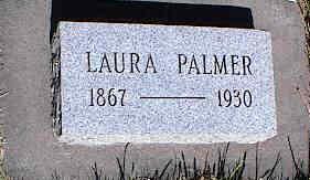 PALMER, LAURA - La Plata County, Colorado | LAURA PALMER - Colorado Gravestone Photos
