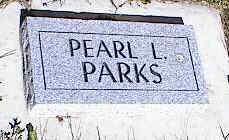 PARKS, PEARL L. - La Plata County, Colorado | PEARL L. PARKS - Colorado Gravestone Photos