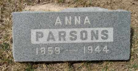 PARSONS, ANNA - La Plata County, Colorado | ANNA PARSONS - Colorado Gravestone Photos