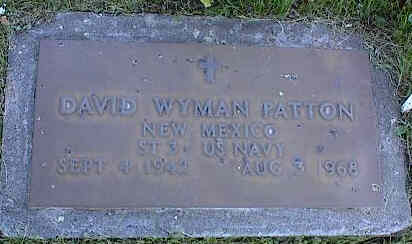 PATTON, DAVID WYMAN - La Plata County, Colorado | DAVID WYMAN PATTON - Colorado Gravestone Photos