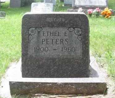 PETERS, ETHEL E - La Plata County, Colorado | ETHEL E PETERS - Colorado Gravestone Photos
