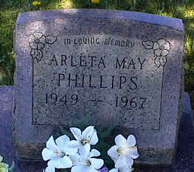 PHILLIPS, ARLETA MAY - La Plata County, Colorado | ARLETA MAY PHILLIPS - Colorado Gravestone Photos