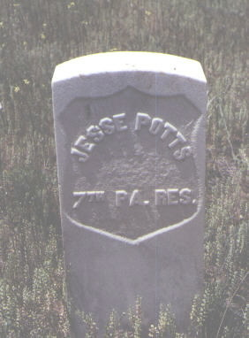 POTTS, JESSE - La Plata County, Colorado | JESSE POTTS - Colorado Gravestone Photos