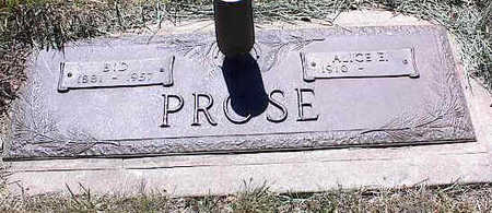 PROSE, BID - La Plata County, Colorado | BID PROSE - Colorado Gravestone Photos