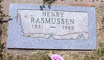 RASMUSSEN, HENRY - La Plata County, Colorado | HENRY RASMUSSEN - Colorado Gravestone Photos