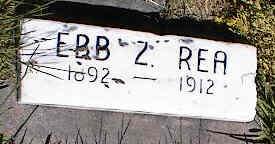 REA, EBB Z. - La Plata County, Colorado | EBB Z. REA - Colorado Gravestone Photos