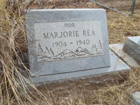 REA, MARJORIE - La Plata County, Colorado | MARJORIE REA - Colorado Gravestone Photos