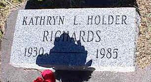 RICHARDS, KATHRYN L. - La Plata County, Colorado   KATHRYN L. RICHARDS - Colorado Gravestone Photos