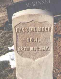 RIDER, HASKELL - La Plata County, Colorado | HASKELL RIDER - Colorado Gravestone Photos