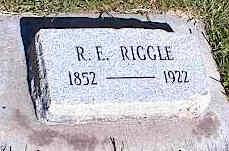 RIGGLE, R. E. - La Plata County, Colorado | R. E. RIGGLE - Colorado Gravestone Photos