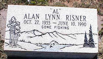 RISNER, ALAN LYNN - La Plata County, Colorado   ALAN LYNN RISNER - Colorado Gravestone Photos