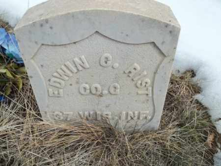 RIST, EDWIN CLARK - La Plata County, Colorado | EDWIN CLARK RIST - Colorado Gravestone Photos