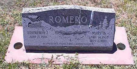 ROMERO, MARY F. - La Plata County, Colorado | MARY F. ROMERO - Colorado Gravestone Photos