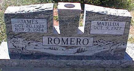 ROMERO, MATILDA - La Plata County, Colorado | MATILDA ROMERO - Colorado Gravestone Photos