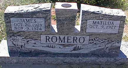 ROMERO, MATILDA - La Plata County, Colorado | MATILDA ROMERO - Colorado Gravestone Photos