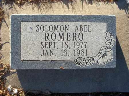 ROMERO, SOLOMON ABEL - La Plata County, Colorado   SOLOMON ABEL ROMERO - Colorado Gravestone Photos