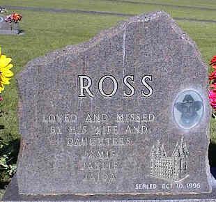 ROSS, COLT HESSTON - La Plata County, Colorado   COLT HESSTON ROSS - Colorado Gravestone Photos