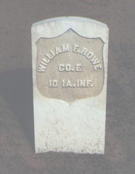 ROWE, WILLIAM F. - La Plata County, Colorado | WILLIAM F. ROWE - Colorado Gravestone Photos