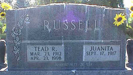 RUSSELL, JUANITA - La Plata County, Colorado | JUANITA RUSSELL - Colorado Gravestone Photos
