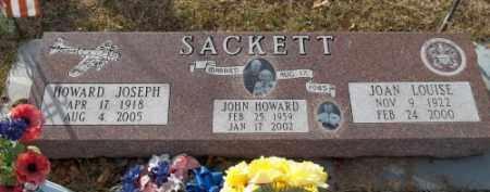 SACKETT, JOHN HOWARD - La Plata County, Colorado   JOHN HOWARD SACKETT - Colorado Gravestone Photos