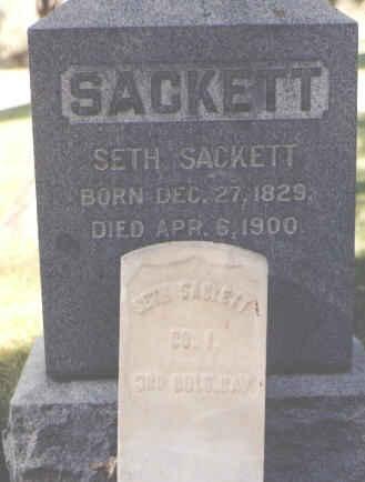 SACKETT, SETH - La Plata County, Colorado | SETH SACKETT - Colorado Gravestone Photos