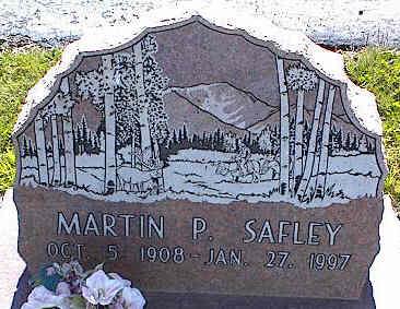 SAFLEY, MARTIN P. - La Plata County, Colorado | MARTIN P. SAFLEY - Colorado Gravestone Photos
