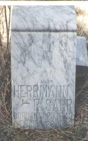 SAHR, HERRMANN R. - La Plata County, Colorado | HERRMANN R. SAHR - Colorado Gravestone Photos