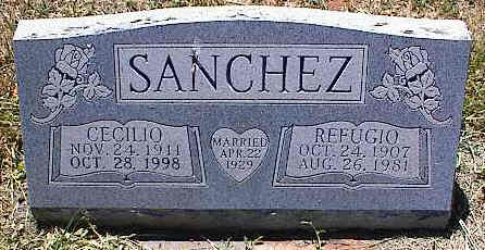 SANCHEZ, REFUGIO - La Plata County, Colorado | REFUGIO SANCHEZ - Colorado Gravestone Photos