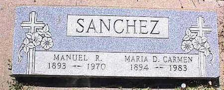 SANCHEZ, MARIA D. CARMEN - La Plata County, Colorado | MARIA D. CARMEN SANCHEZ - Colorado Gravestone Photos