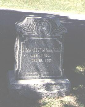 SANFORD, CHARLOTTE M. - La Plata County, Colorado | CHARLOTTE M. SANFORD - Colorado Gravestone Photos