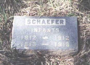 SCHAEFER, INFANTS - La Plata County, Colorado   INFANTS SCHAEFER - Colorado Gravestone Photos