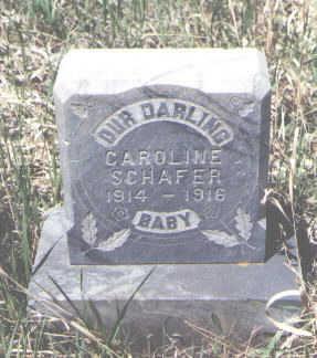 SCHAFER, CAROLINE - La Plata County, Colorado   CAROLINE SCHAFER - Colorado Gravestone Photos