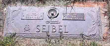 SEIBEL, BESSIE E. - La Plata County, Colorado | BESSIE E. SEIBEL - Colorado Gravestone Photos