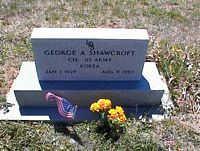 SHAWCROFT, GEORGE A. - La Plata County, Colorado | GEORGE A. SHAWCROFT - Colorado Gravestone Photos