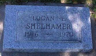 SHELHAMER, LOGAN E. - La Plata County, Colorado | LOGAN E. SHELHAMER - Colorado Gravestone Photos