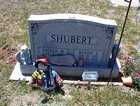 SHUBERT, CHESTER M. - La Plata County, Colorado   CHESTER M. SHUBERT - Colorado Gravestone Photos