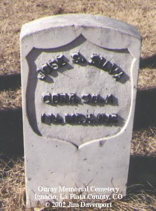 SILVA, JOSE S. - La Plata County, Colorado | JOSE S. SILVA - Colorado Gravestone Photos