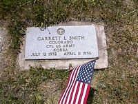 SMITH, GARRETT L. - La Plata County, Colorado   GARRETT L. SMITH - Colorado Gravestone Photos
