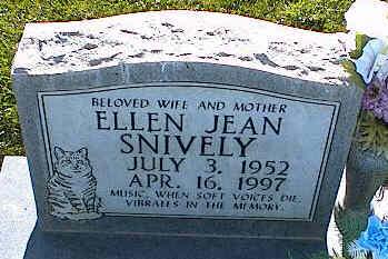 SNIVELY, ELLEN JEAN - La Plata County, Colorado   ELLEN JEAN SNIVELY - Colorado Gravestone Photos