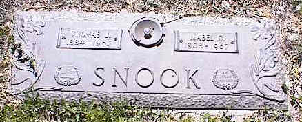 SNOOK, THOMAS L. - La Plata County, Colorado | THOMAS L. SNOOK - Colorado Gravestone Photos