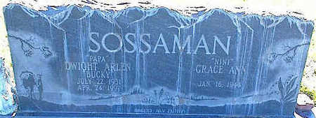 SOSSAMAN, GRACE ANN - La Plata County, Colorado | GRACE ANN SOSSAMAN - Colorado Gravestone Photos