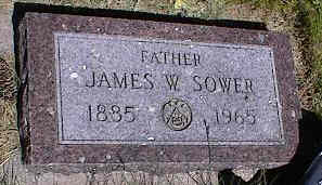 SOWER, JAMES W. - La Plata County, Colorado | JAMES W. SOWER - Colorado Gravestone Photos