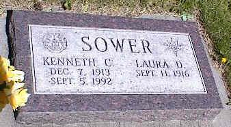 SOWER, KENNETH C. - La Plata County, Colorado | KENNETH C. SOWER - Colorado Gravestone Photos