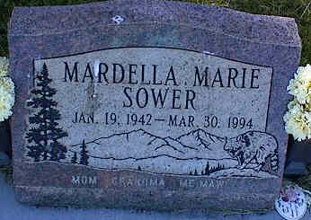 SOWER, MARDELLA MARIE - La Plata County, Colorado | MARDELLA MARIE SOWER - Colorado Gravestone Photos