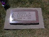 STILLION, WINNIE M. - La Plata County, Colorado | WINNIE M. STILLION - Colorado Gravestone Photos