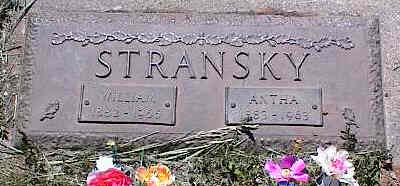 STRANSKY, ANTHA - La Plata County, Colorado | ANTHA STRANSKY - Colorado Gravestone Photos