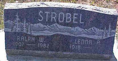 STROBEL, RALPH W. - La Plata County, Colorado   RALPH W. STROBEL - Colorado Gravestone Photos