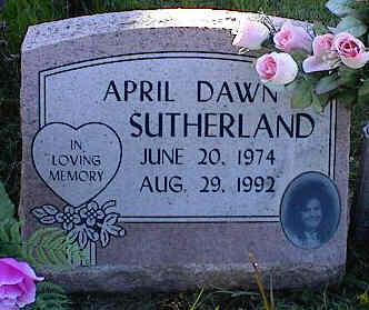 SUTHERLAND, APRIL DAWN - La Plata County, Colorado | APRIL DAWN SUTHERLAND - Colorado Gravestone Photos