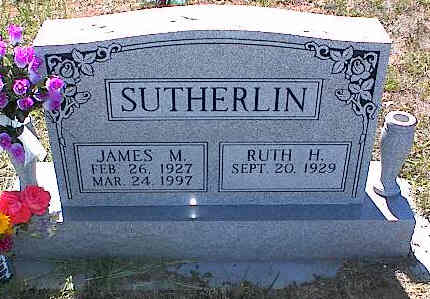 SUTHERLIN, JAMES M. - La Plata County, Colorado | JAMES M. SUTHERLIN - Colorado Gravestone Photos