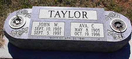 TAYLOR, JOHN W. - La Plata County, Colorado | JOHN W. TAYLOR - Colorado Gravestone Photos